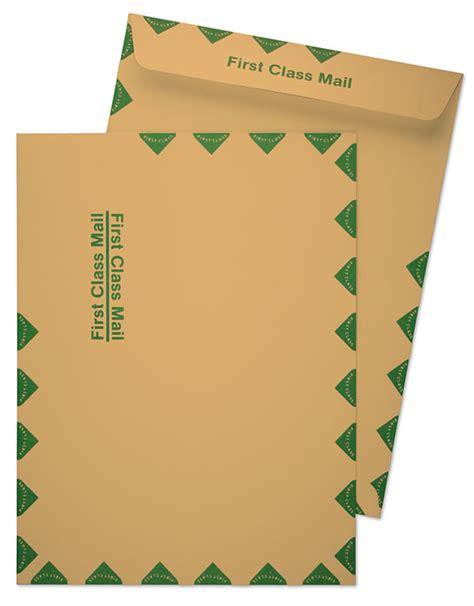 10 X 13 Catalog 28lb Brown Kraft First Class Mail Green Diamond Border Catalog Envelopes 10x13 Catalog Envelope Template