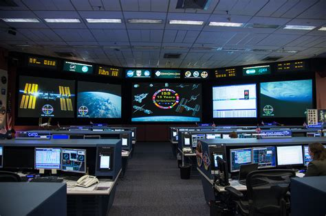 nasa mission room space station flight room nasa