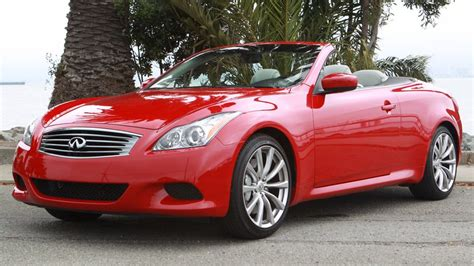 infiniti  convertible review  infiniti