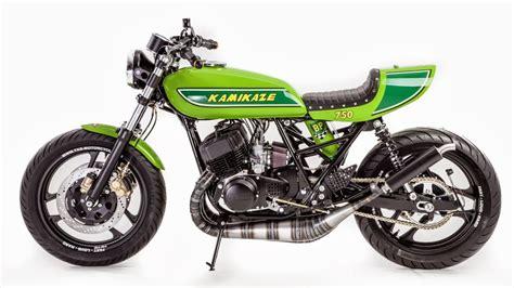 Kawasaki 2 Takt Motorrad by Kawasaki Kamikaze Modellnews