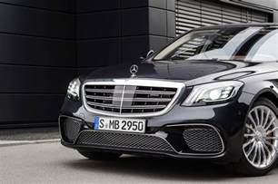 S Mercedes Official 2018 Mercedes Amg S63 And S65 Facelift Gtspirit