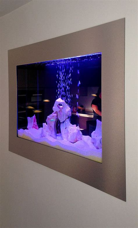 aquarium custom built   wall decor