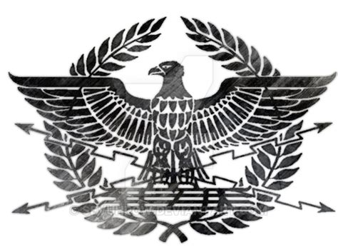 spqr eagle by sevuhrow on deviantart