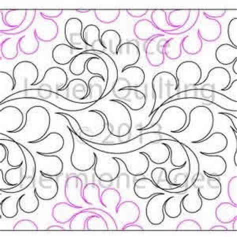 Digital Quilting Designs by Flounce Lorien Quilting Digitized Quilting Designs