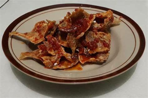 resep ikan asin pedas balado renyah resep ikan