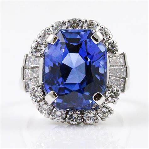 Blue Sapphire 7 72ct magnificent 11 72ct unheated blue sapphire and