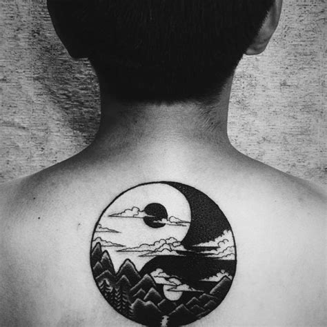 yin yang tattoo meaning tattoo collections
