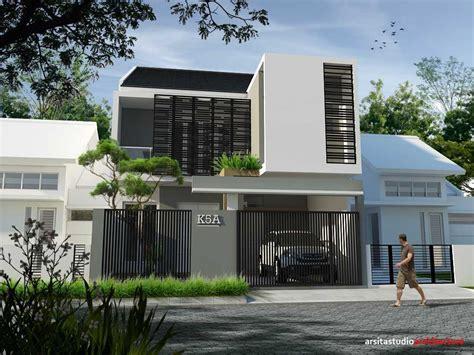 model desain rumah minimalis ngetrend di tahun 2017 arsitag