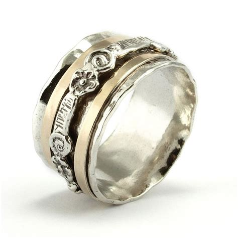 17 best ideas about spinner rings on sterling