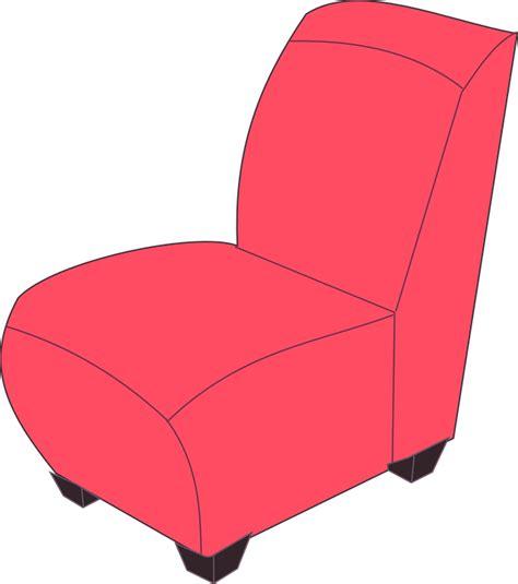 Kursi Merah gambar vektor gratis kursi malas kursi mebel merah