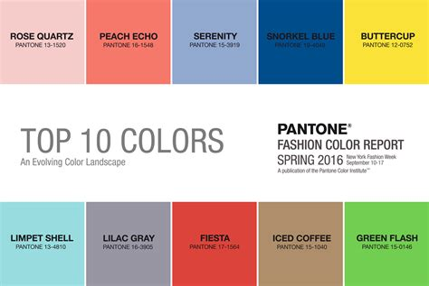 pantone color trends pantone fashion colours the silver forge