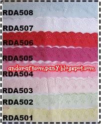 Renda Katun 3 jual renda and s crafts