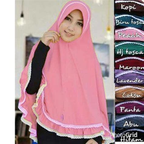Jilbab Instant Bando Pet Renda jilbab instan bergo malika terbaru bundaku net