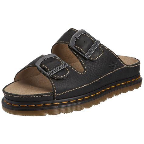 dr martens mens sandals dr martens 8093 2 bar slide mens leather sandals ebay