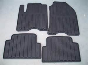 Ford Focus Floor Mats 2010 Ford Focus All Weather Floor Mats Black 4 Set