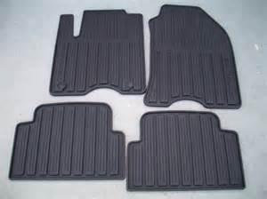 2010 ford focus all weather floor mats black 4 set