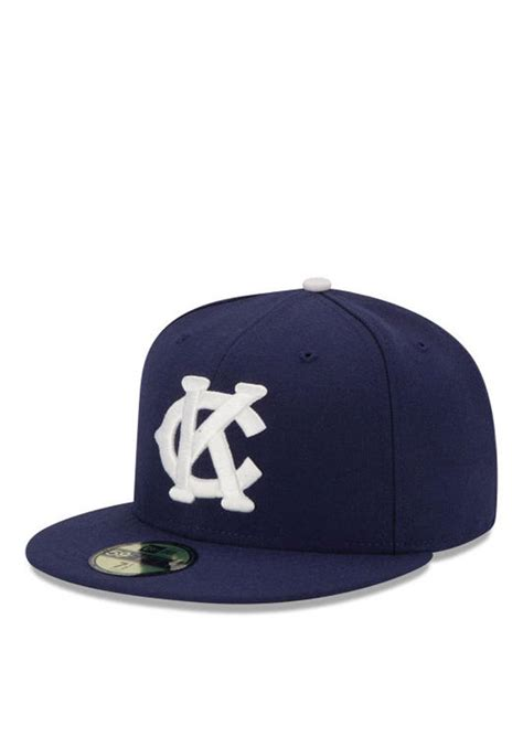 Kc Navy new era kansas city monarchs mens navy blue 2016 59fifty