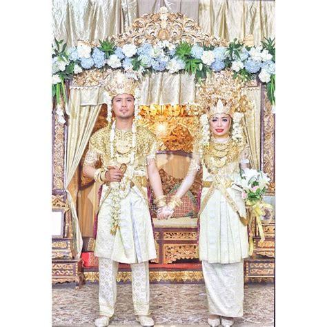 Baju Pernikahan Elegan simple elegan 15 inspirasi baju pernikahan adat palembang