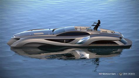 yacht boat design gray design s xhibitionist yacht and xhibit g car