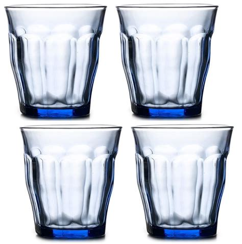 Duralex Picardie 310ml Set Of 6 duralex picardie sets 4 or 6 toughened glass
