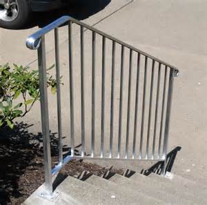 Aluminum Handrail Styles And Colors Hton Concrete Products