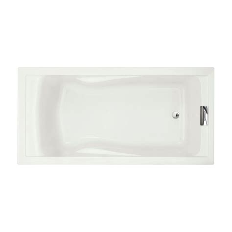 bathtub american standard american standard evolution 6 feet acrylic bathtub in white the home depot canada