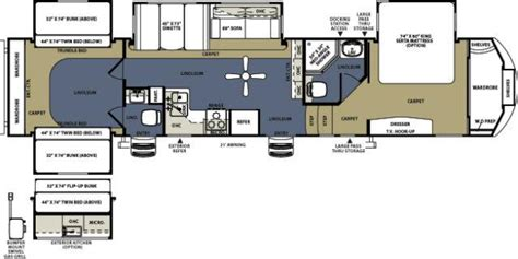 sierra rv floor plans 2013 forest river sierra 365saq fifth wheel owatonna mn