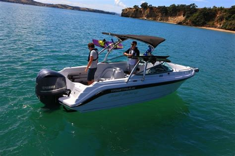 new water boats tristram 690 cabriolet diverse bowrider boat