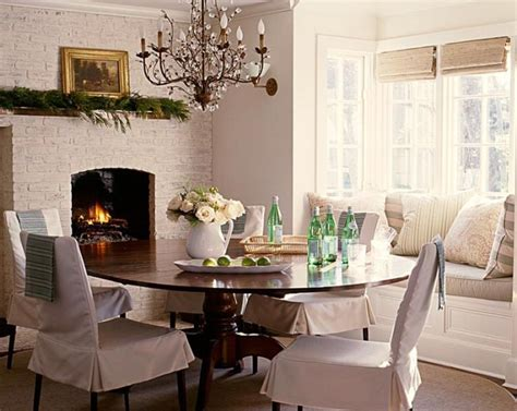 dining rooms  bay window designing ideas