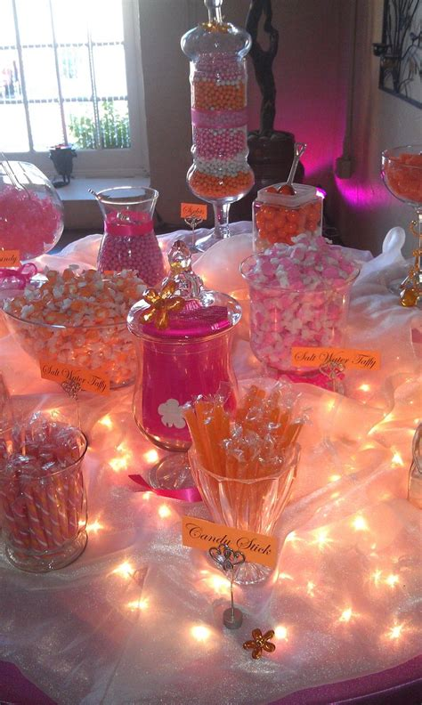 buffet table ls silver pearls dreams