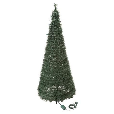 pull up trees with lights 4 ft pull up tree with multi function lights walter