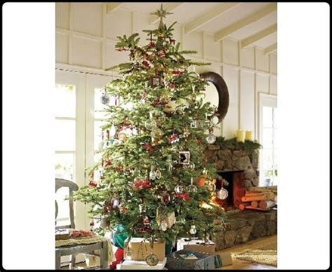 new christmas tree decorating 2011 by pottery barn