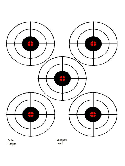 bullseye chart template printable targets 9 free templates in pdf word excel