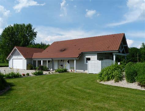 Vaste Maison De Plain Pied D 233 Du Plan De Vaste maison bois de plain pied nos maisons ossatures bois
