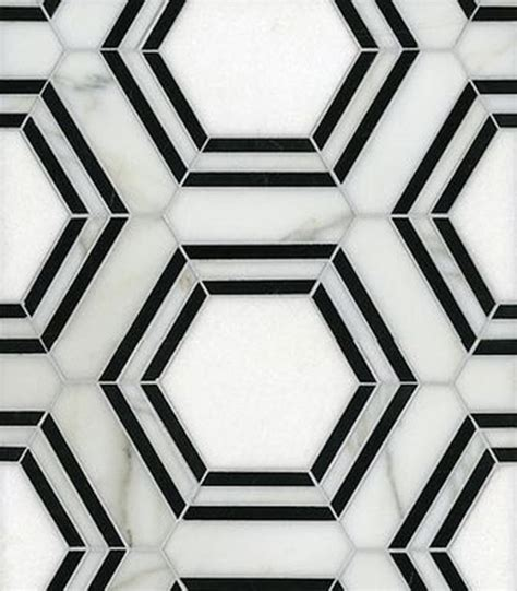 37 black and white hexagon bathroom floor tile ideas and