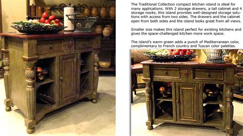 French Country Kitchen Islands French Country Kitchen Islands Group Picture Image By