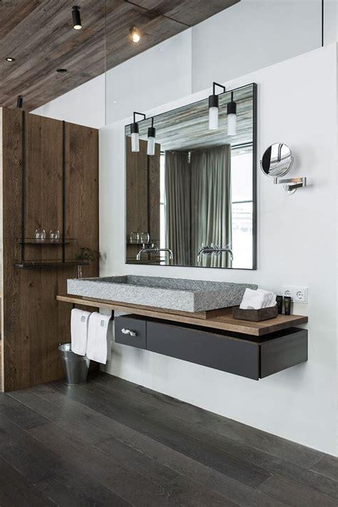 modern hotel bathrooms bathroom in hotel wiesergut gogl architekten home is