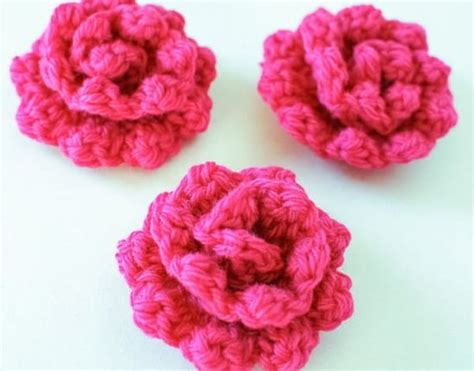 free pattern to crochet a rose crochet rose pattern free video tutorial all the best ideas