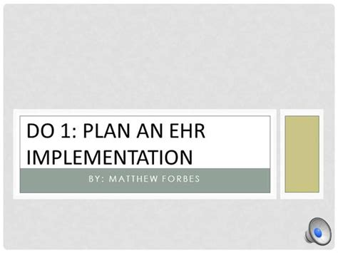 Teach 1 Ehr Implementation With Project Management On Ipad Authorstream Ehr Powerpoint Templates
