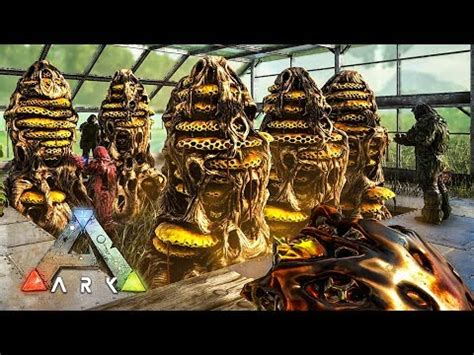 ark: survival evolved giant queen bee taming & honey