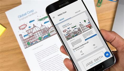 scan app android turn your phone into a document scanner with adobe scan cnet
