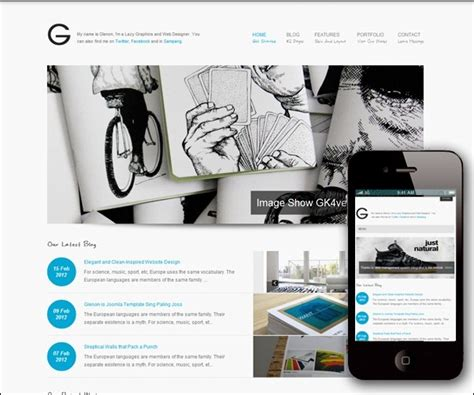 template joomla responsive 2 5 free 40 of the best joomla 2 5 templates