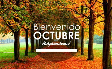 Imagenes De Octubre Bienvenido | bienvenido octubre tarjetas para