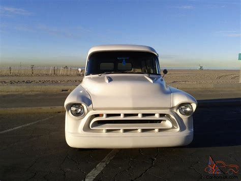 1957 chevy truck hot rod 1957 chevy panel truck suburban hot rod