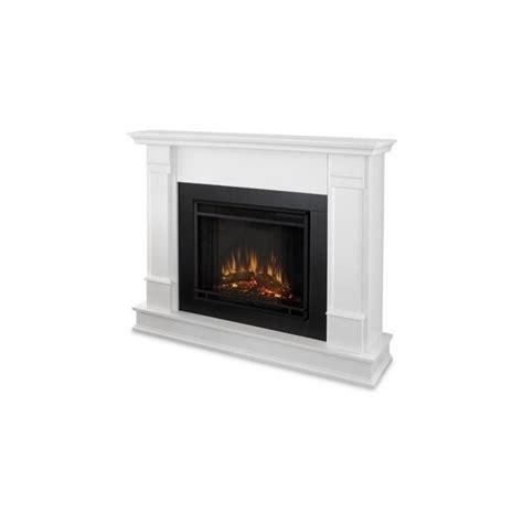 Real Flame Silverton Electric Fireplace In White Finish Silverton Electric Fireplace