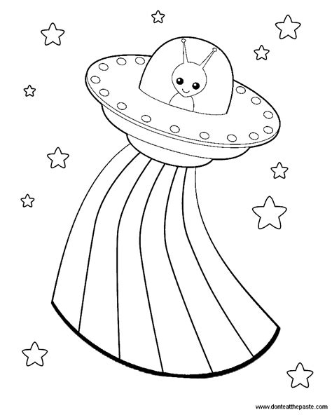 ufo coloring book pages don t eat the paste aliens box coloring page and a