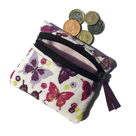 Butterfly Coin Purse purple butterfly coin purse conscious crafties