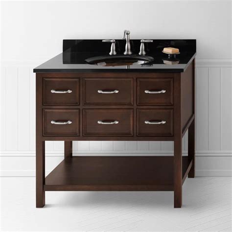 bathroom vanity ronbow ronbow collection ronbow newcastle 36 quot vanity 052736 bath vanity from home stone