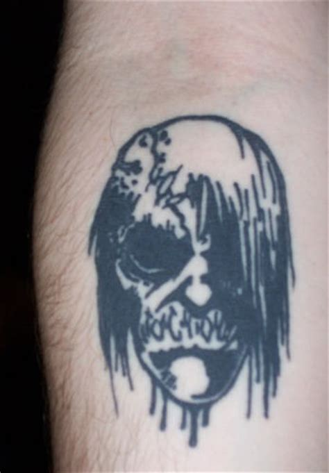 zombie tattoo ink black zombie tattoo on arm