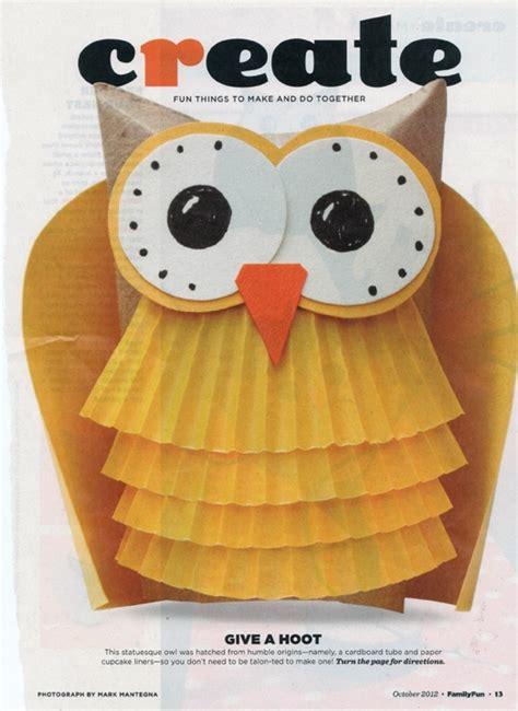 cupcake paper crafts nigel nightowl craft idea tp cupcake liners